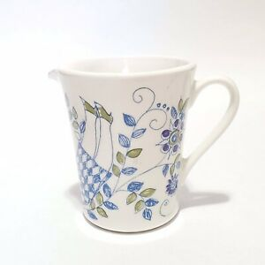 Mini-Creamer-Lotte-Cup-FIGGJO-NORWAY-2-3-4-Tall-Ceramic-Silkscreen-Hand-panted