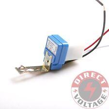 2PCS AS-10 AC110V Auto On Off Light Switch Photo Control Sensor 10A 50-60Hz