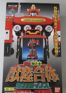 BANDAI Power Ranger perdió Galaxy Gingaman DX Giga rainosu Megazord De Japón