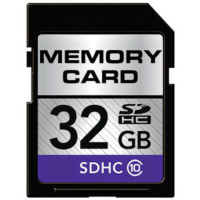 32GB Class-10 SDHC Memory Card