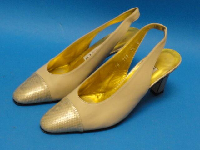 ESCADA  DESIGNER HEELS scarpe  Style E3214  Dimensione 7.5 B
