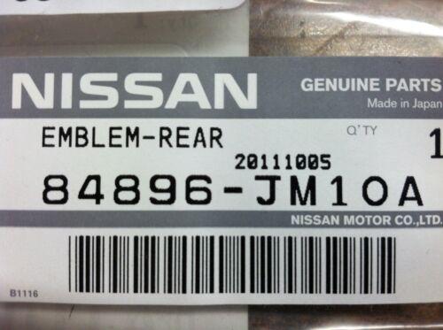 "NEW OEM 2008-2012 ROGUE 2011-2012 JUKE REAR GATE EMBLEM /""SL AWD/"" EMBLEM"