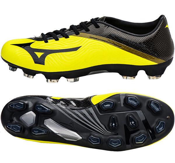 Mizuno Basara 101 MD P1GA166209 Botines De Fútbol Zapatos botas amarillo