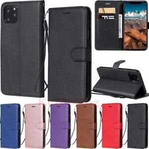 For iPhone 11 Pro X XR 6s 7 8 Plus Leather Magnetic Flip Stand Wallet Case Cover