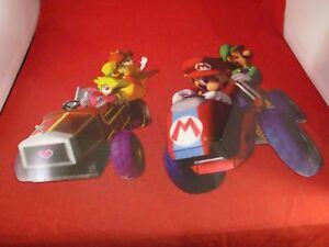 Details About Mario Kart Double Dash Nintendo Gamecube Sticker Display Promo Luigi Daisy Peach