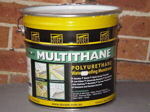 Duram Multithane Std Waterproofing 15l New Grey Ebay