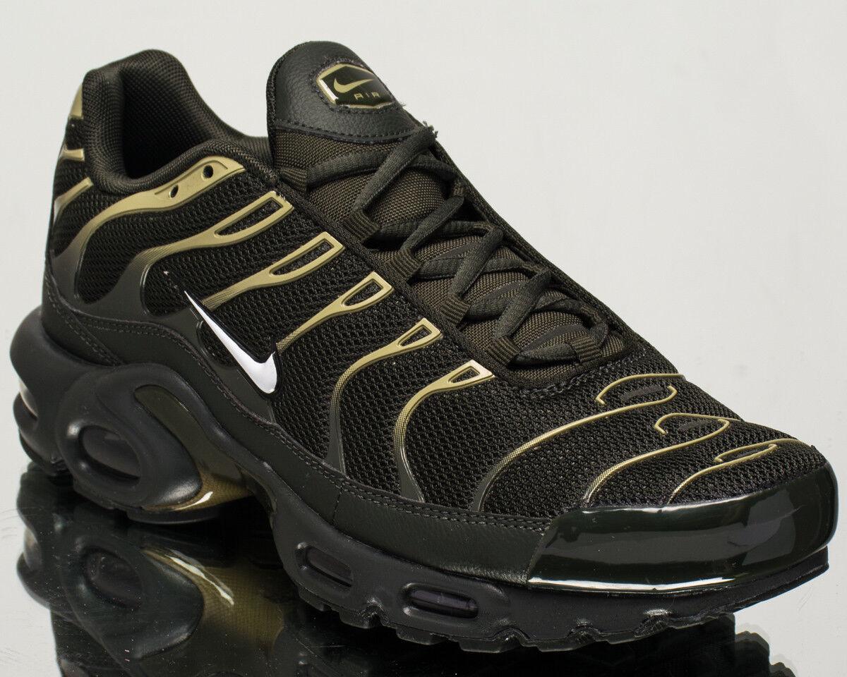 Nike Air Max Plus men lifestyle sneakers NEW sequoia white olive 852630-301