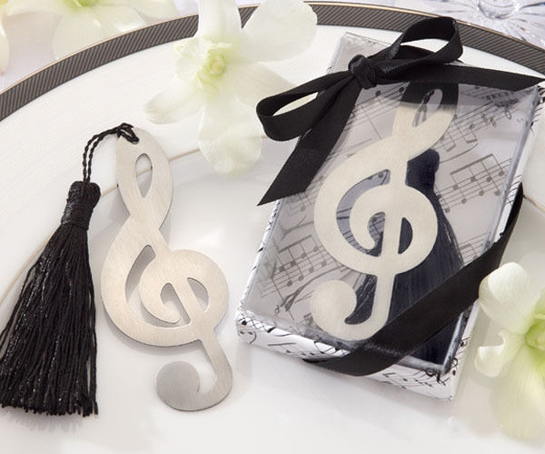 Best Music Note Alloy Bookmark Novelty Ducument Book Marker Label Stationery