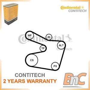 Correa-Acanalada-V-Set-BMW-Contitech-OEM-11281722789-6PK1538K2-Genuino-Resistente