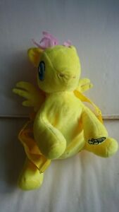 My-Little-Pony-Fluttershy-Character-Plush-Kids-Soft-Toy-Unicorn-Backpack-Girls