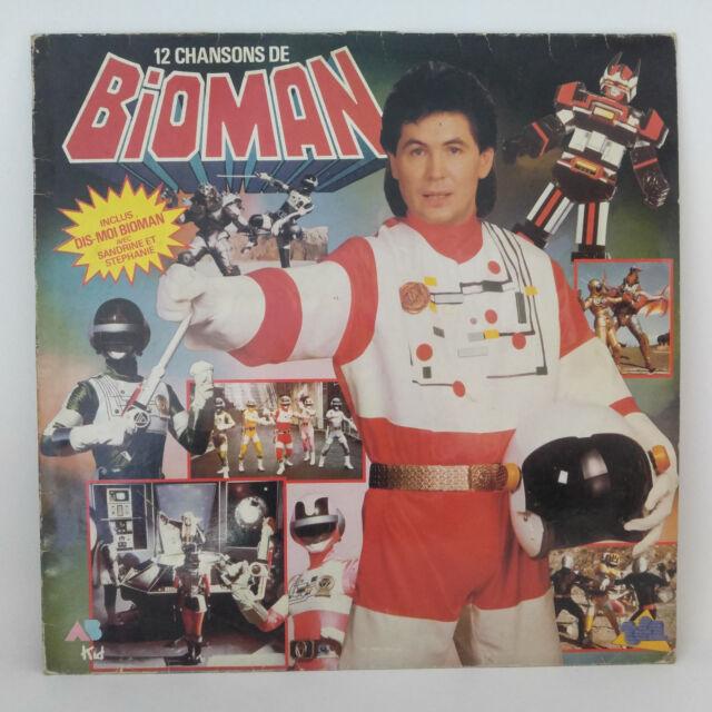Bernard Minet – 12 Chansons De Bioman Label: AB Kid – 835 675-1 Format: Vinyl