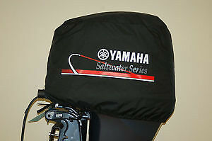 Yamaha deluxe outboard motor cover saltwater series mar for Yamaha boat motor covers