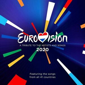 EUROVISION-SONG-CONTEST-2020-Rotterdam-2-CD-Set-2020-Official-Release