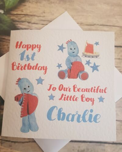 Igglepiggle Personalised Birthday Card
