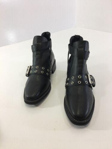 Eyelet Shoe Collection us7 Truffle Uk5 Nwt Buckle Womens Nero w1tvInBxp