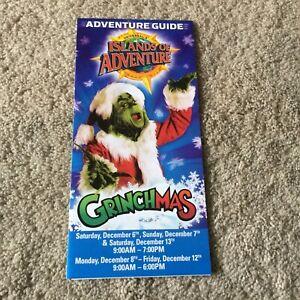 Vintage Universal Studios Florida Islands of Adventure Grinchmas 2008