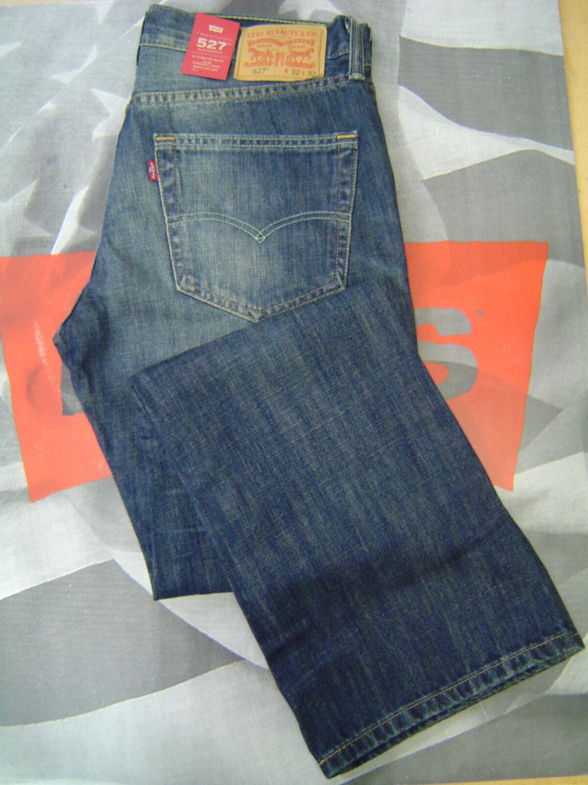 42cbefaf Levi's 527 Slim Bootcut Boot Cut 100 Cotton Jeans - Men's 36 X 34 ...