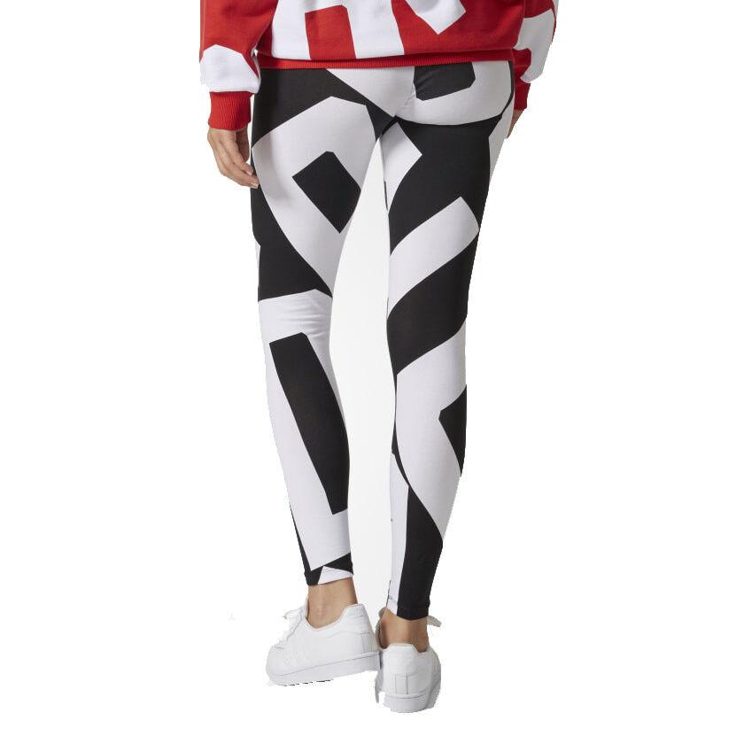 3f7e8209ad77c ... Adidas Originals pour femme en âge imprimé graphique Long Legging Tight  Legging Long Gym Yoga Pantalon