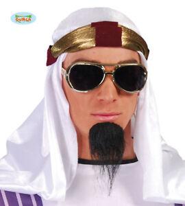 Caricamento dell immagine in corso GUIRCA-Copricapo-cappello-arabo-bianco- carnevale-uomo-adulto- 95b5233cc737