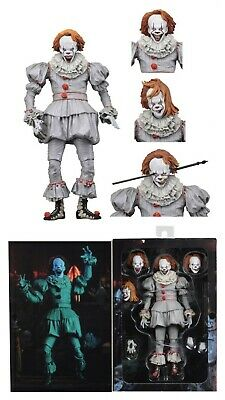 """ELLE 2017 Pennywise the dancing clown Ultimate 7/"""" Action Figure NECA En Stock"""