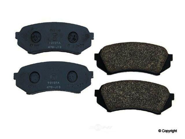Premium Ceramic Disc Brake Pad REAR Set Fits Toyota 4Runner FJ Sequoia GX KFE606
