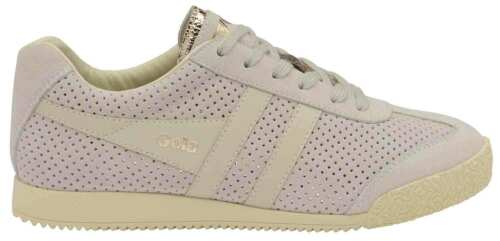 Gola Mica Femmes Baskets Baskets Chaussures De Loisirs cla190fa beige or neuf