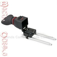 KAMERAR QV-1 Rail kit LCD View Finder Viewfinder for Canon 5D III Nikon Sony A77