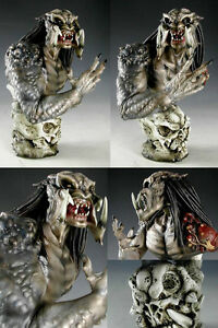 Details about 1/ 5 Predator Bust None Scale Unpainted Resin Model Kit