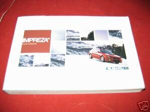 2005-SUBARU-IMPREZA-TURBO-OWNERS-MANUAL-05-OWNER-039-S-ALL