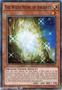 LDK2-ENK05-The-White-Stone-of-Ancients-1st-edition-Mint-YuGiOh-Card