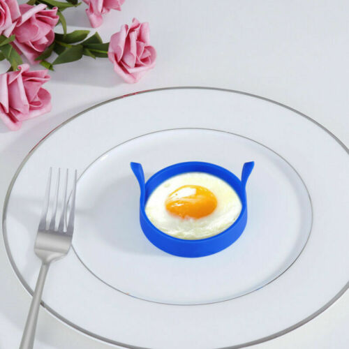 Silicone Fried Egg Pancake Ring Omelette Round Eggs Mould Cooking Breakfast