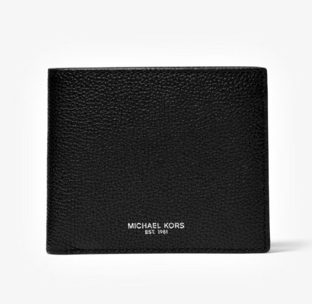 6b648f8ed397 Michael Kors Russel Mens Billfold Wallet Coin Pocket Leather - for ...