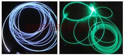 30M 5mm Side Glow Fiber Optic Cable For Collectibles Light Decorative Arts Lamps