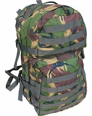 KOMBAT UK 40L BRITISH ARMY ASSAULT TACTICAL COMBAT MOLLE RUCKSACK BERGEN BACKPAC