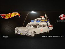 Hot Wheels Ghostbusters ECTO 1 Cadillac Ambulance 1959 1/18