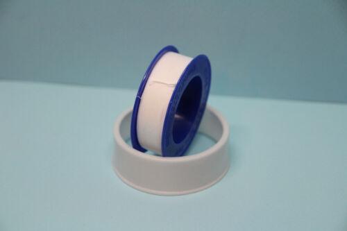 0,37€//m Teflonband 12mm 8m Gewindedichtband Dichtband Gewindeband
