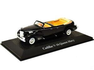 Limusina-1948-Cadillac-v16-Queen-Mary-metal-miniatura-modelo-coche-modelo-1-43