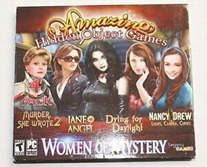 New-Legacy-Games-Women-Of-Mystery-Amazing-Hidden-Object-Games-4-Game-Pack-CD
