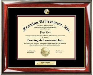 diploma frames engraved certificate frame university degree logo