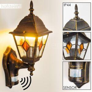 aussen wand leuchte mit bewegungsmelder terrasse balkon veranda lampen wandlampe ebay. Black Bedroom Furniture Sets. Home Design Ideas
