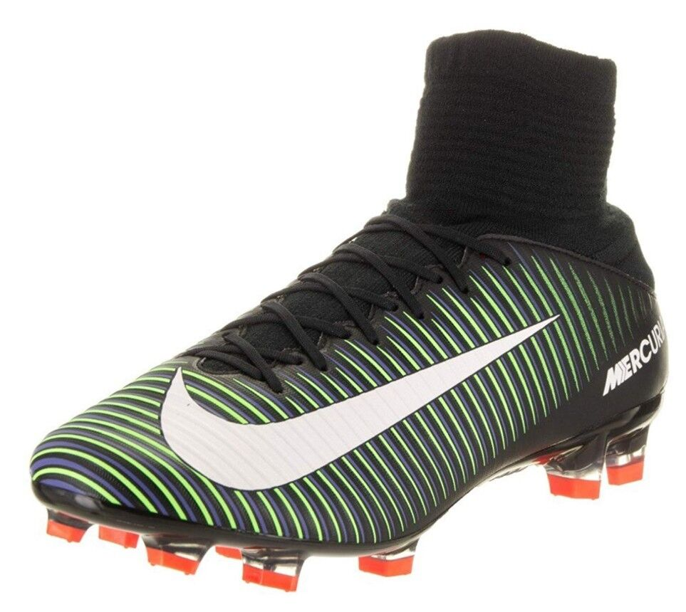 Nike Mercurial Veloce III DF FG 3 mens soccer cleats football NEW 831961-013