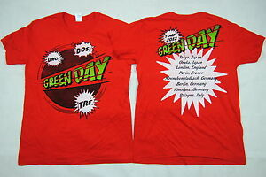 green day uno dos tre t shirt