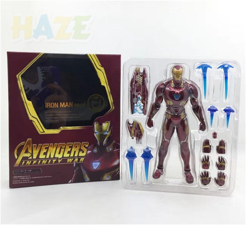 Marvel Avengers Infinity War Iron Man Mk50  S.H. Figuarts Figure Toy 16cm mmm