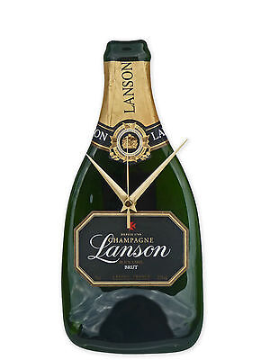 Free P/&P Wedding Gift Lanson Champagne Bottle Clock Ideal Xmas engagement