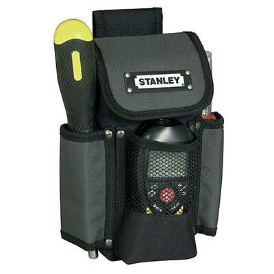 "Stanley Tough Work 9"" 230mm Hand Tool Pouch/Holder/Bag With Belt Loop STA193329"