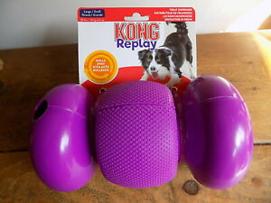 KONG-Replay-Large-Treat-Dispensing-Rolling-Dog-Toy-with-Auto-Rollback