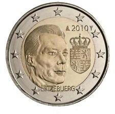 """LUXEMBURG 2010 2 EURO """" HENRI MET WAPENSCHILD """" - UNC"""