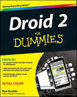 Droid 2 For Dummies by Dan Gookin (Paperback, 2010)