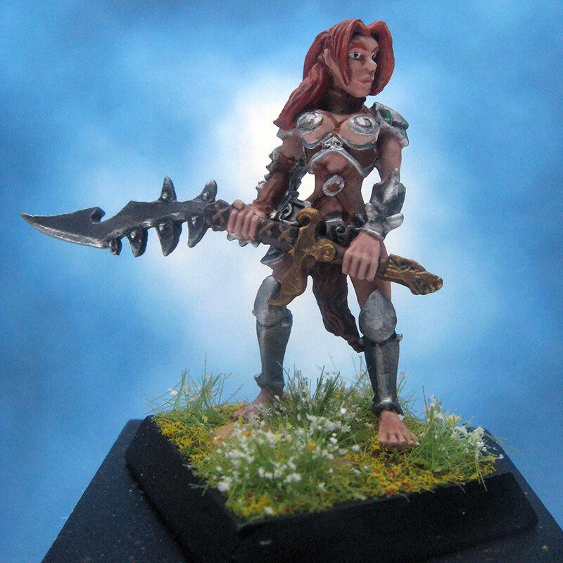 Malte reaper miniatur - jean weibliche barbar