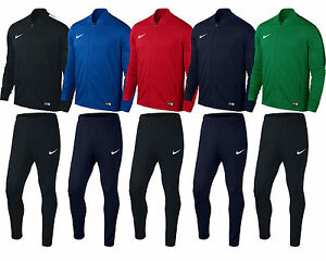 wholesale dealer 53f17 ea992 Image is loading Kids-Nike-Tracksuit-Boys-Junior-Football-Sports-Full-